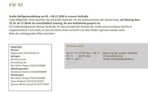 Ländl. Reit- & Fahrverein - Fritzlar e.V. - Reithalle Fritzlar ...
